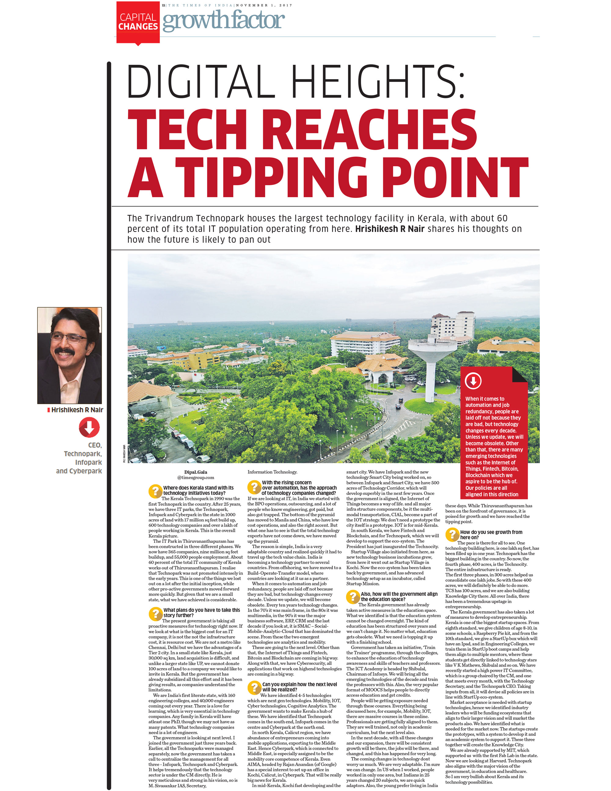DIGITAL HEIGHTS : TECH REACHES A TIPPING POINT